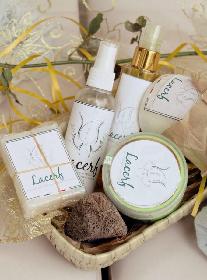 beauty box lacerf creme soin corps et visage femme bio organique naturel